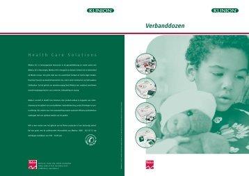 Overzicht verbanddozen - B - Medeco