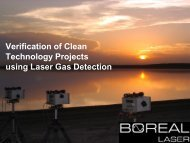 Verification of Clean Technology Projects using Laser Gas ... - Acamp