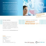 ?Advances in Renal Cancer? 2011 - Press - Bayer