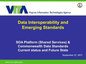 Data Interoperability and Emerging Standards