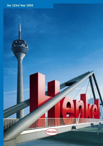Henkel - Our 123rd Year 1999