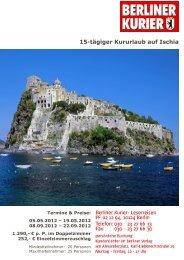 15-tägiger Kururlaub auf Ischia - Leserreisen