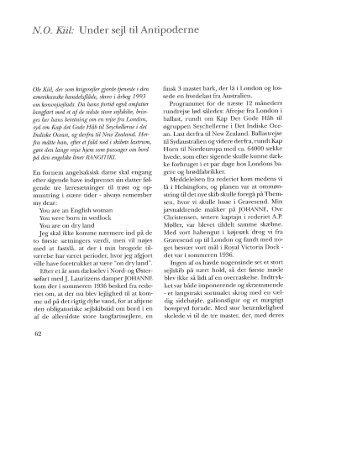 N.O. Kiil: Under sejl til Antipoderne