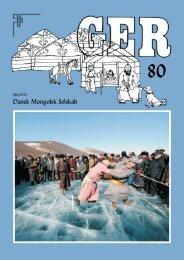 Ger 80 - danskmongolskselskab.dk