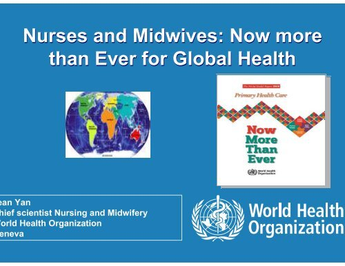 Nurses and Midwives: Now more than Ever for - What is GIS - World ...