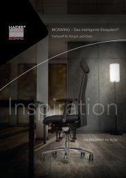 BIOSWING – Das intelligente Sitzsystem - HAIDER BIOSWING GmbH