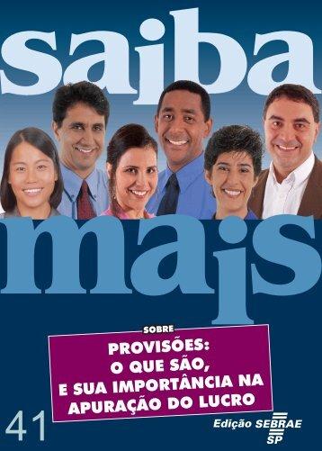 Provisoes(oquesaoesuaimportancianaapuracaodo lucro).