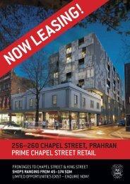 256–260 chapel street, prahran prime chapel street retail