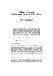 A Method of Estimating Oriented Surface Elements from Stereo Images