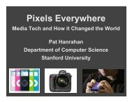 Media Tech and How it Changed the World - Computing Research ...