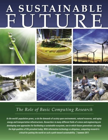 A Sustainable Future - Computing Research Association