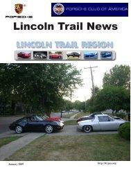 January 2009 - Lincoln Trail - Porsche Club of America