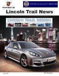 Lincoln Trail News - Lincoln Trail - Porsche Club of America