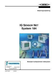 IQ SENSOR NET System 184 - Fagerberg