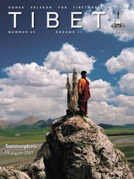 Tibet 69, 2007 - Dansk Selskab for Tibetansk Kultur