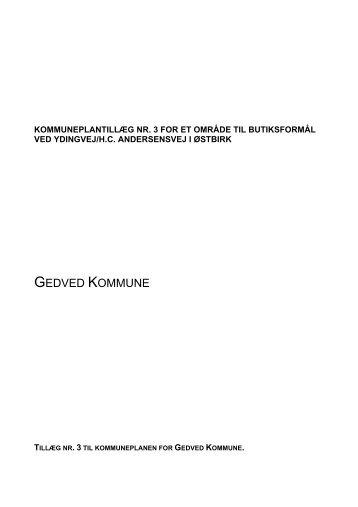 GEDVED KOMMUNE