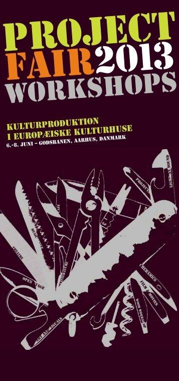 workshops - Kulturhusene i Danmark