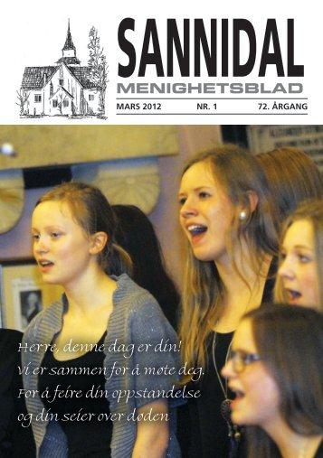 2012-1 - kirkene i Kragerø