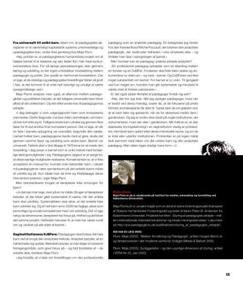 BØRN&UNGEforskning - Bupl