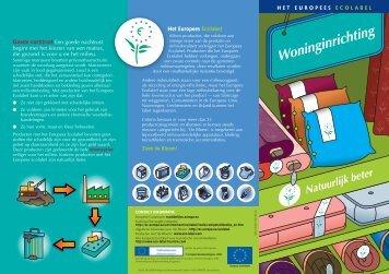 Het Europees Ecolabel Goede nachtrust Een goede nachtrust ...