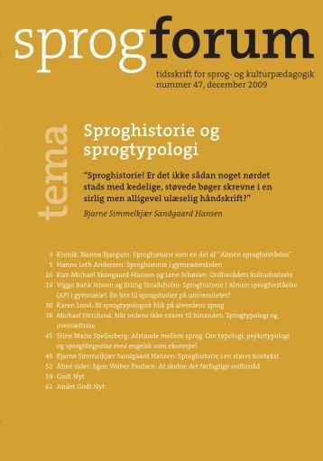 Sprogforum 47 - Aarhus Universitetsforlag