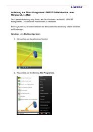 Windows Live Mail - Liwest