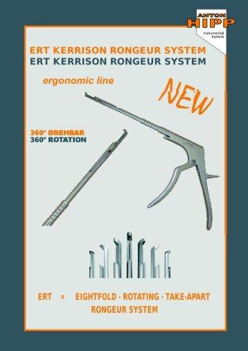 ERT KERRISON RONGEUR SYSTEM - Anton Hipp