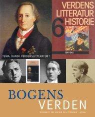 ,,Bogens Verden_4-2006 - Center for Verdenslitterære Studier ...