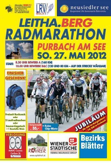 SO. 27. MAI 2012 - Leithaberg-Radmarathon