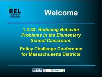 view powerpoint slides - REL Northeast & Islands - Regional ...