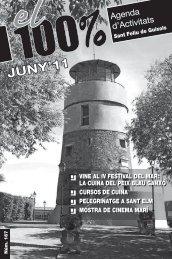 Juny 2011(PDF) - Ajuntament de Sant Feliu de Guíxols