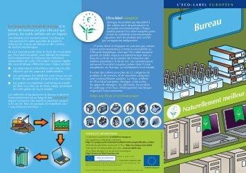 Le bureau - Ecolabel
