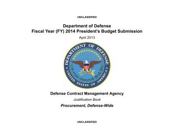 Defense Contract Management Agency - Comptroller