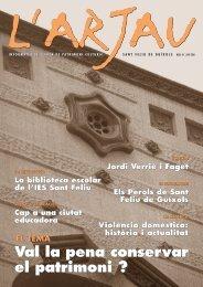 N. 40 (juny 2001) - Ajuntament de Sant Feliu de Guíxols