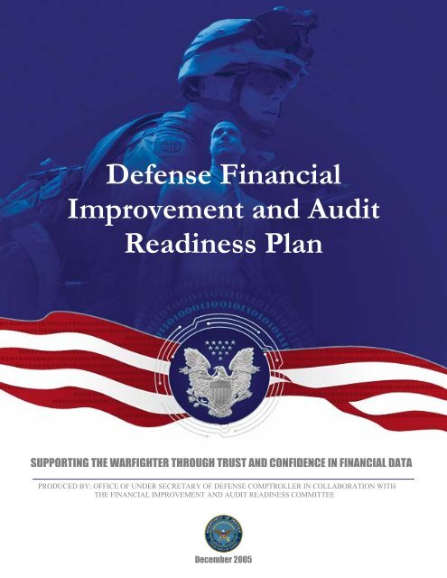 Defense Financial Improvement and Audit Readiness Plan