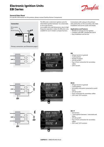 intermittent ignition series oil primary control