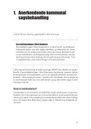 1. Anerkendende kommunal sagsbehandling - Dafolo