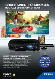 GRATIS KINECT FÜR XBOX 360