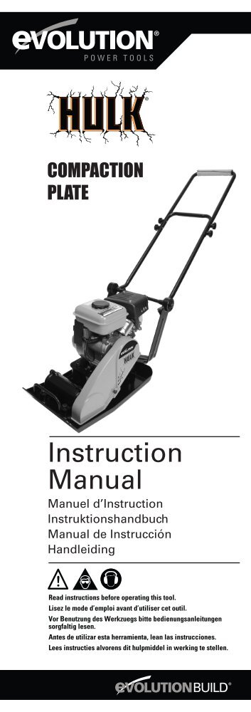 Instruction Manual - Toolstop