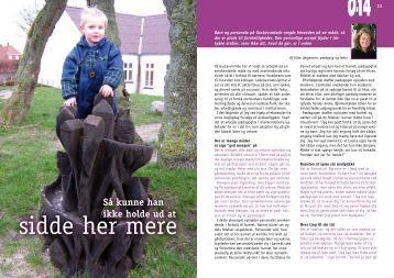 Artikel fra Tidskriftet 0-14, Januar - 2007 - Gustavsminde
