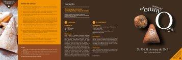 Mercat del Brunyol (Programa 2013) - Festa Catalunya