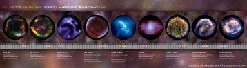 Blasts from the Past: Historic supernovas - Chandra X-ray Observatory