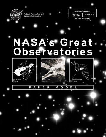 NASA's Great Observatories Kit pdf - ER - NASA