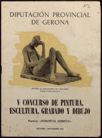 Y CONCURSO DE PINTURA, ESCULTURA, GRABADO Y DIBUJO