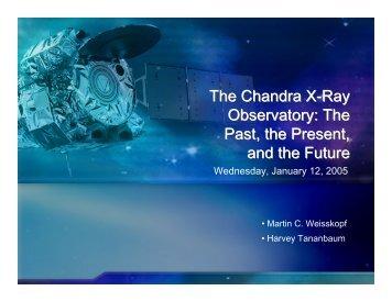 PDF (7.1 MB) - Chandra X-ray Observatory