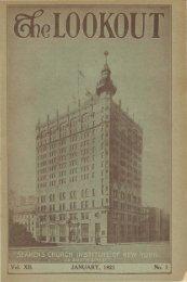 Seamen's Church Institute of New York