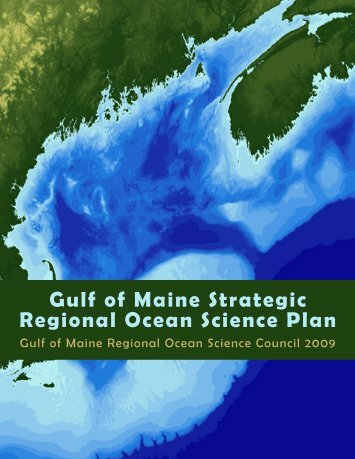 Gulf of Maine Strategic Regional Ocean Science Plan - MIT Sea Grant
