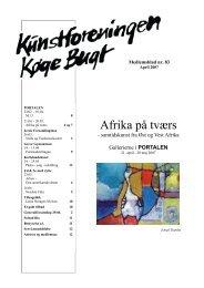 Nr 83 - april 2007 - Kunstforeningen Køge Bugt
