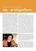 et telegrafbarn s. 6 En ny teletjeneste blir til s .12 - Telepensjonistene - Page 6