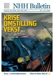 Last ned magasinet og les om - Norges Handelshøyskole